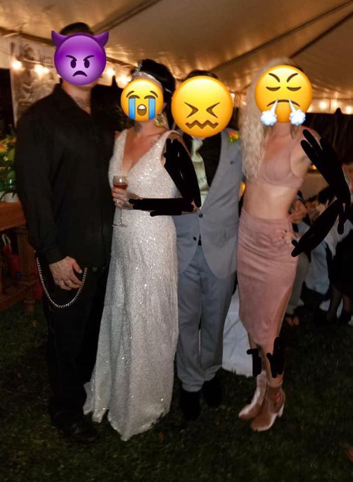 圖片來源/thats it,I'm wedding shaming 臉書