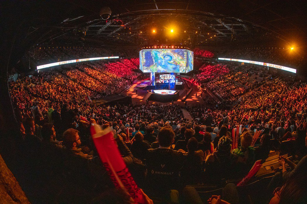 2019 LoL World Finals Paris。(圖片來源:LoL Es...