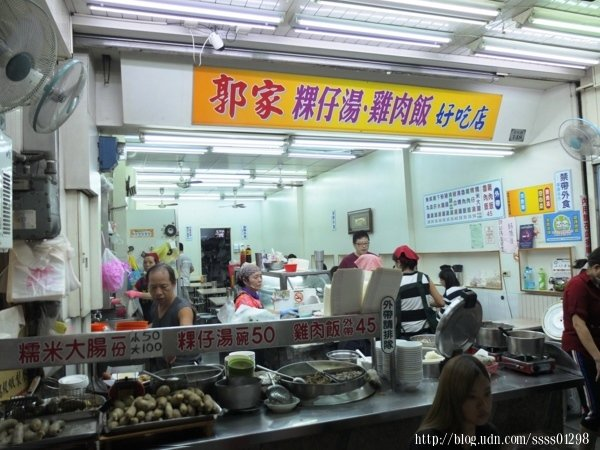 說起文化路夜市裡的「郭家雞肉飯」無人不知無人不曉。