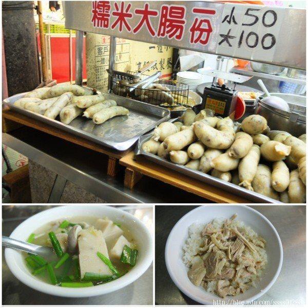 手工製作的糯米大腸是吃雞肉飯和粿仔湯的最佳襯角,糯米腸可點一份小的,這樣子一餐實惠好吃。