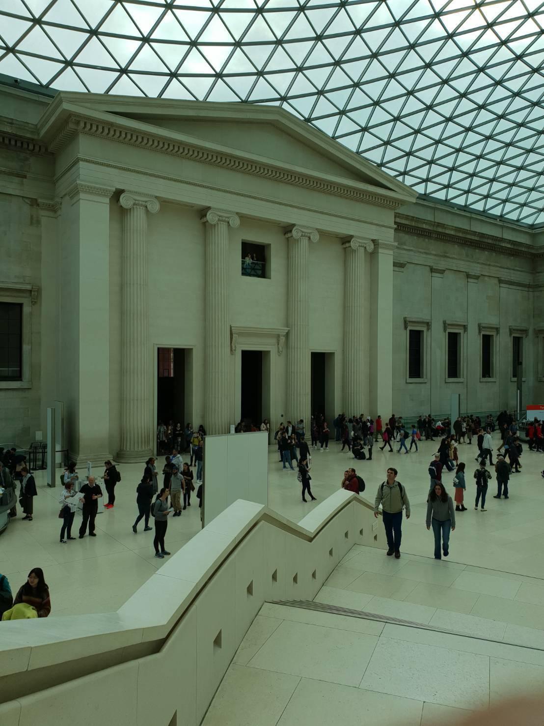 大英博物館是名流夢幻婚禮的首選。記者陳宛茜/攝影