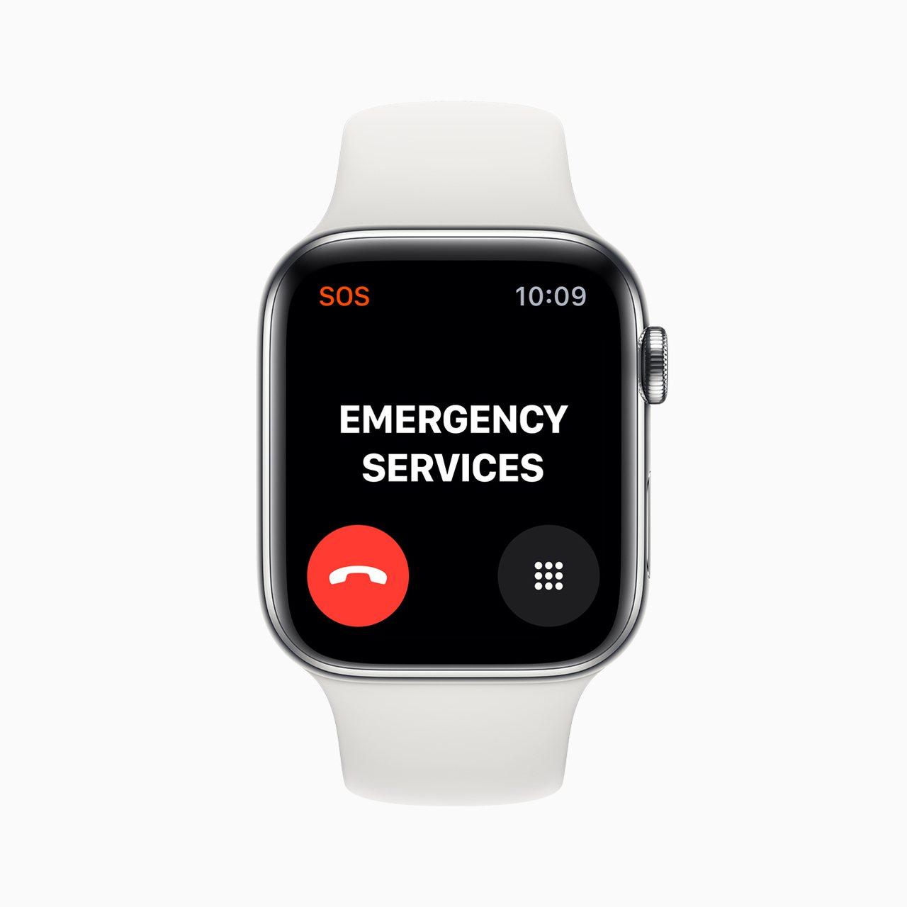具有行動網路功能的Apple Watch Series 5,危急時刻可在超過15...