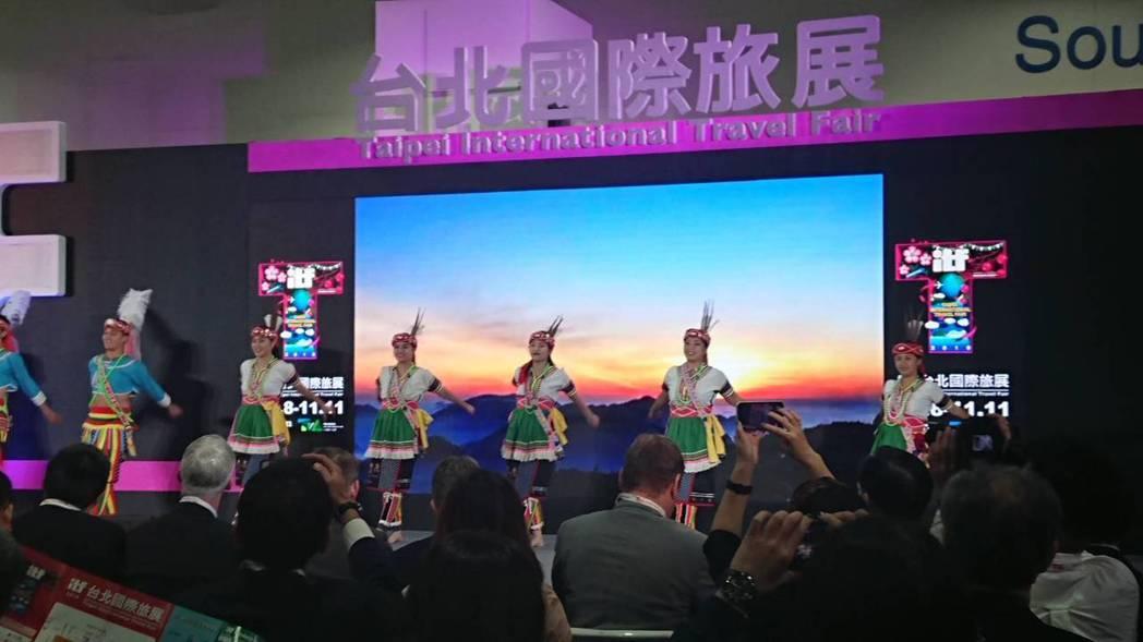 2019 ITF台北國際旅展今年開展。 記者黃淑惠/攝影