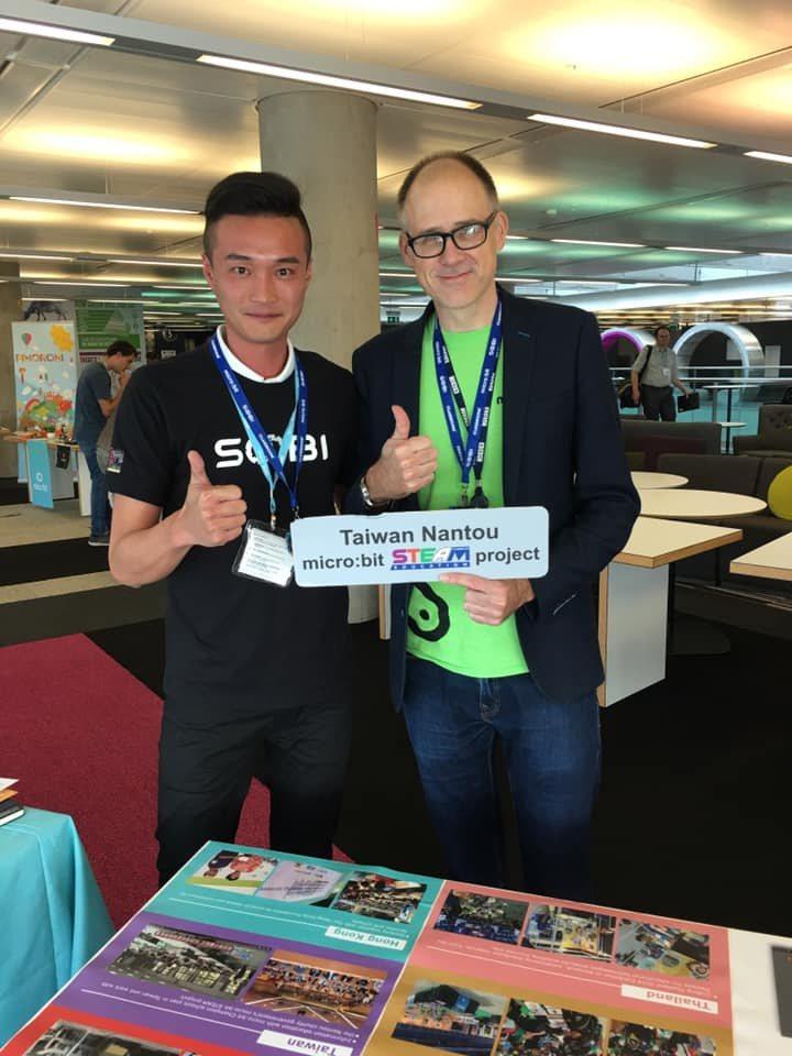 台灣團隊參與BBC媒體城的座談會,與全球教育工作者分享南投縣推動科技資訊教育普及...