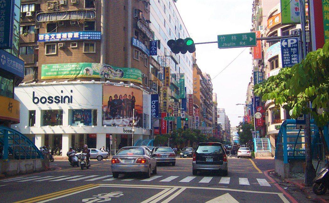 永和街景。   記者游智文/攝影