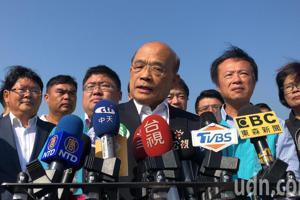 韓國瑜質疑國家機器爆買房個資 蘇貞昌:不必疑神疑鬼