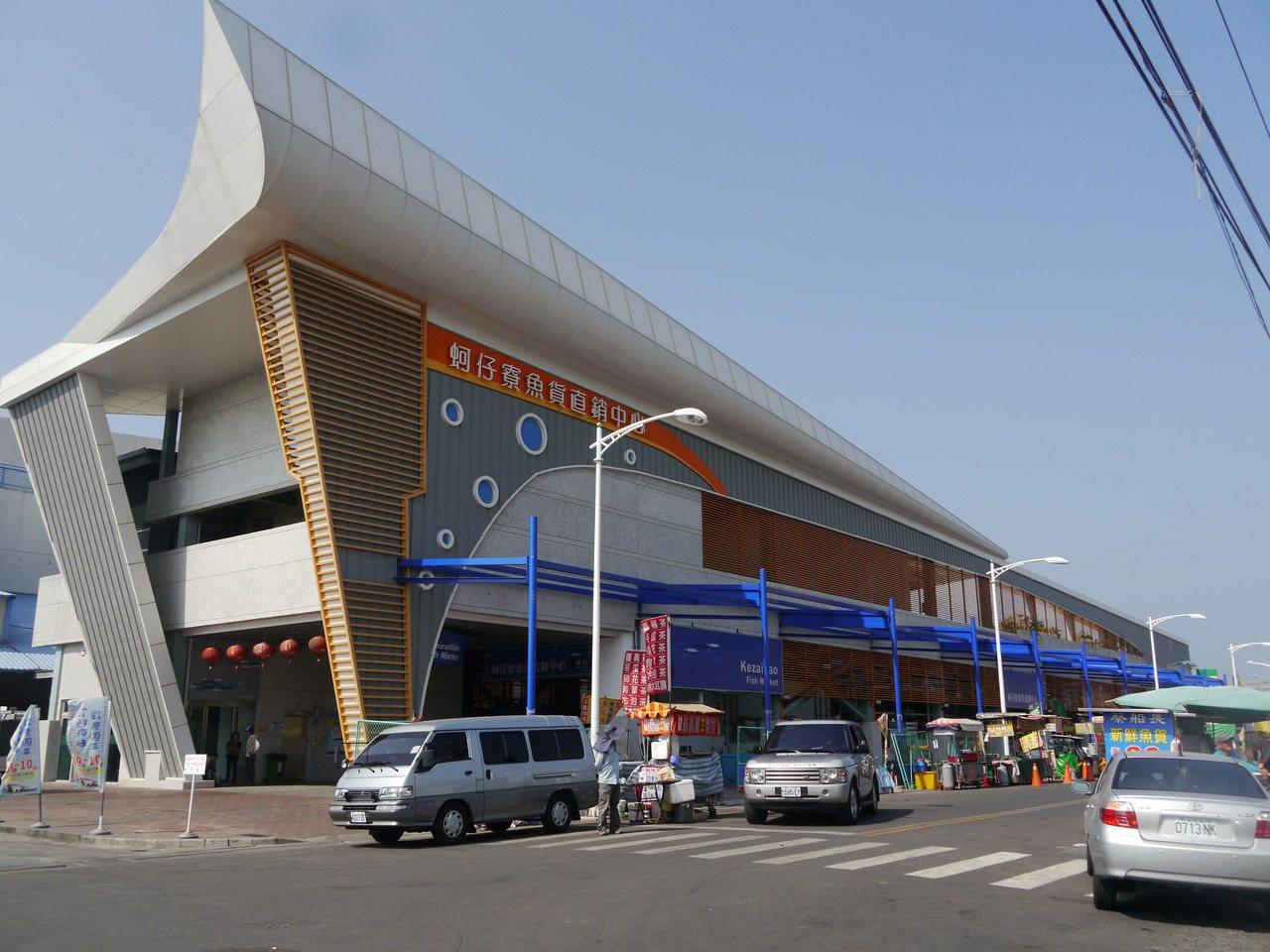 蚵仔寮魚市場去年整建完成,內含拍賣市場與零售市場。記者徐白櫻/攝影