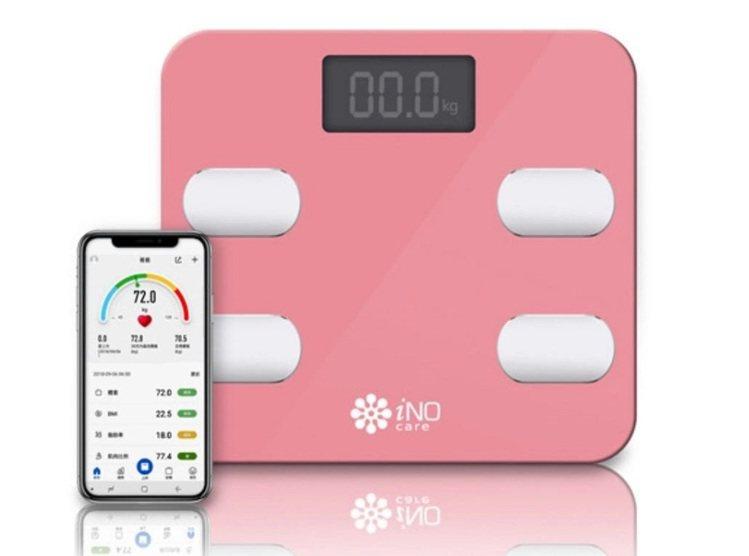 iNO藍牙智能體重計,原價2,000元、松果購物11月11日當天限定特價690元...