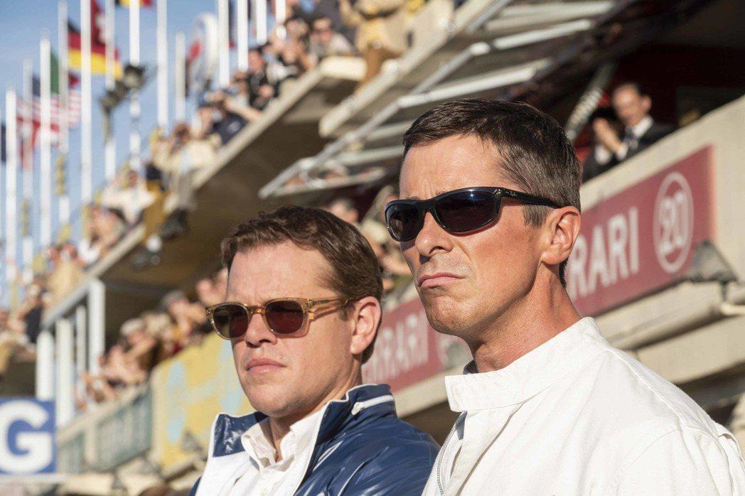 麥特戴蒙、克里斯汀貝爾首度合作「賽道狂人」被預測將締造亮麗票房。圖/福斯提供