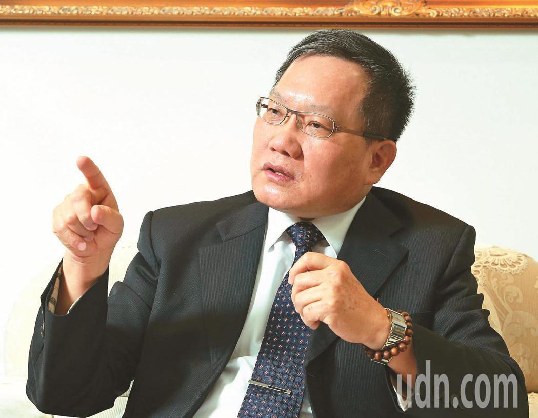 財政部長蘇建榮。本報資料照片
