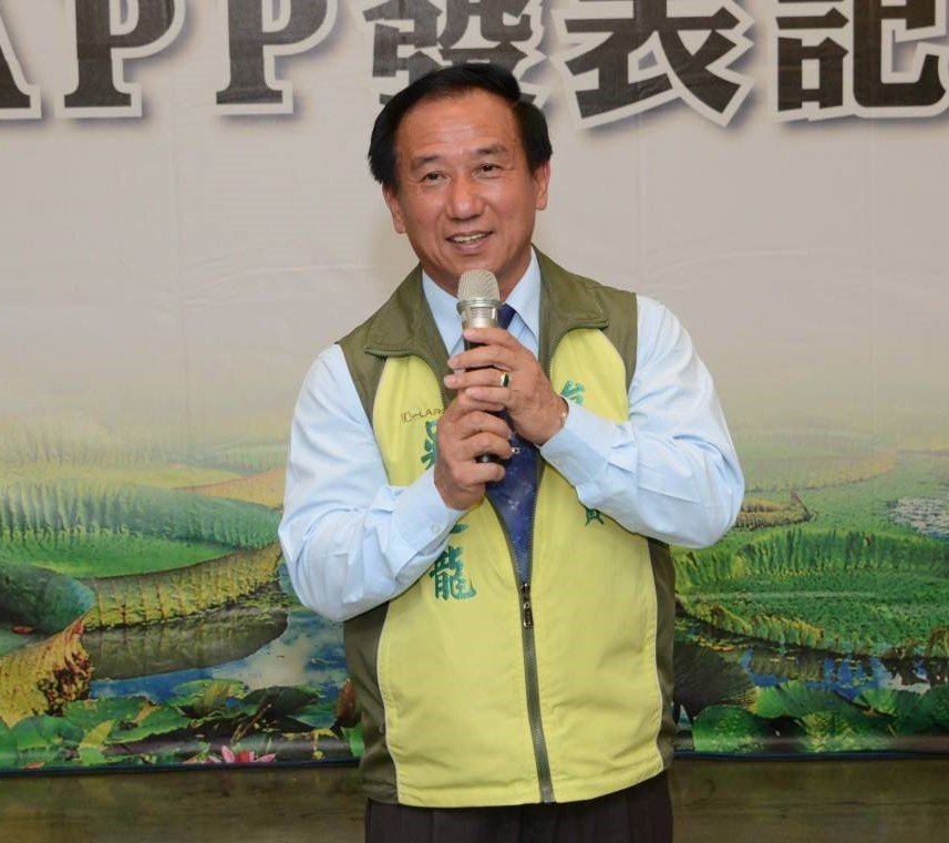 台南市議員吳通龍。取自吳通龍臉書