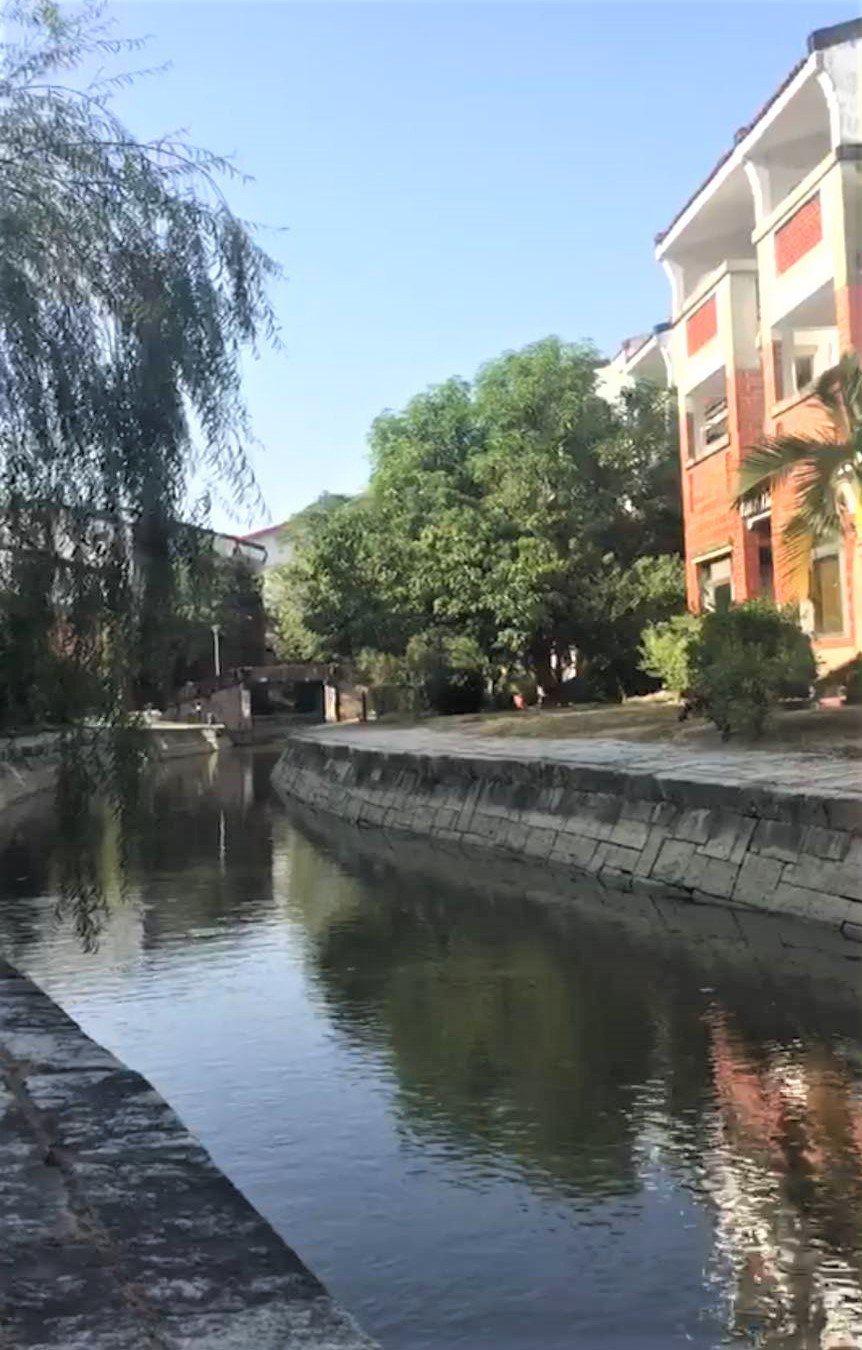 台南藝術大學校園景色優美。圖/南藝大提供