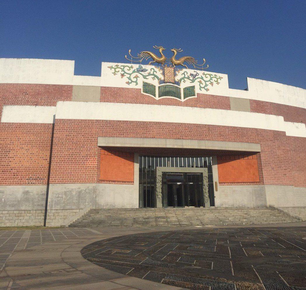 台南藝術大學建築有特色。圖/南藝大提供