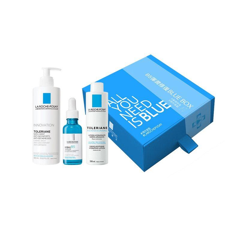momo購物網獨家推出理膚寶水B5彈潤修復精華BLUE BOX,66折特價2,3...