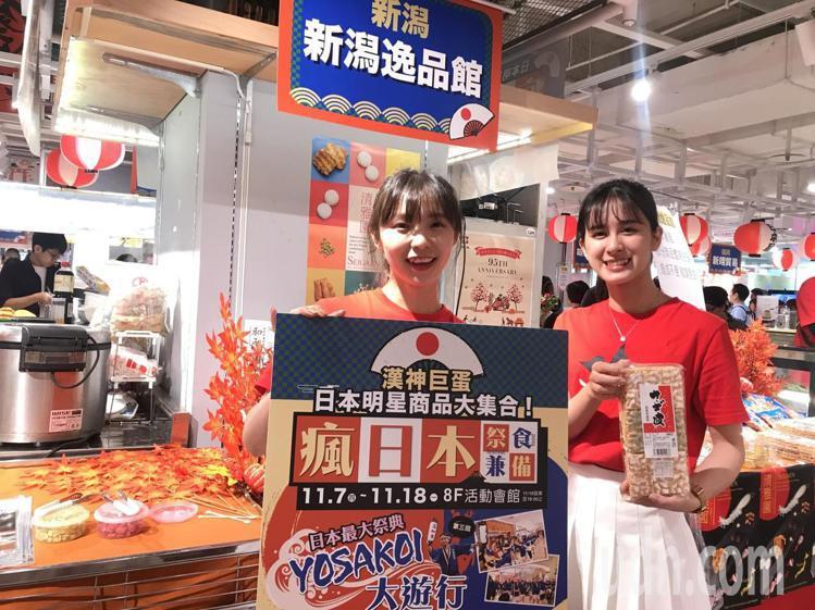 高雄漢巨蛋周年慶推出日本物展。記者謝梅芬/攝影