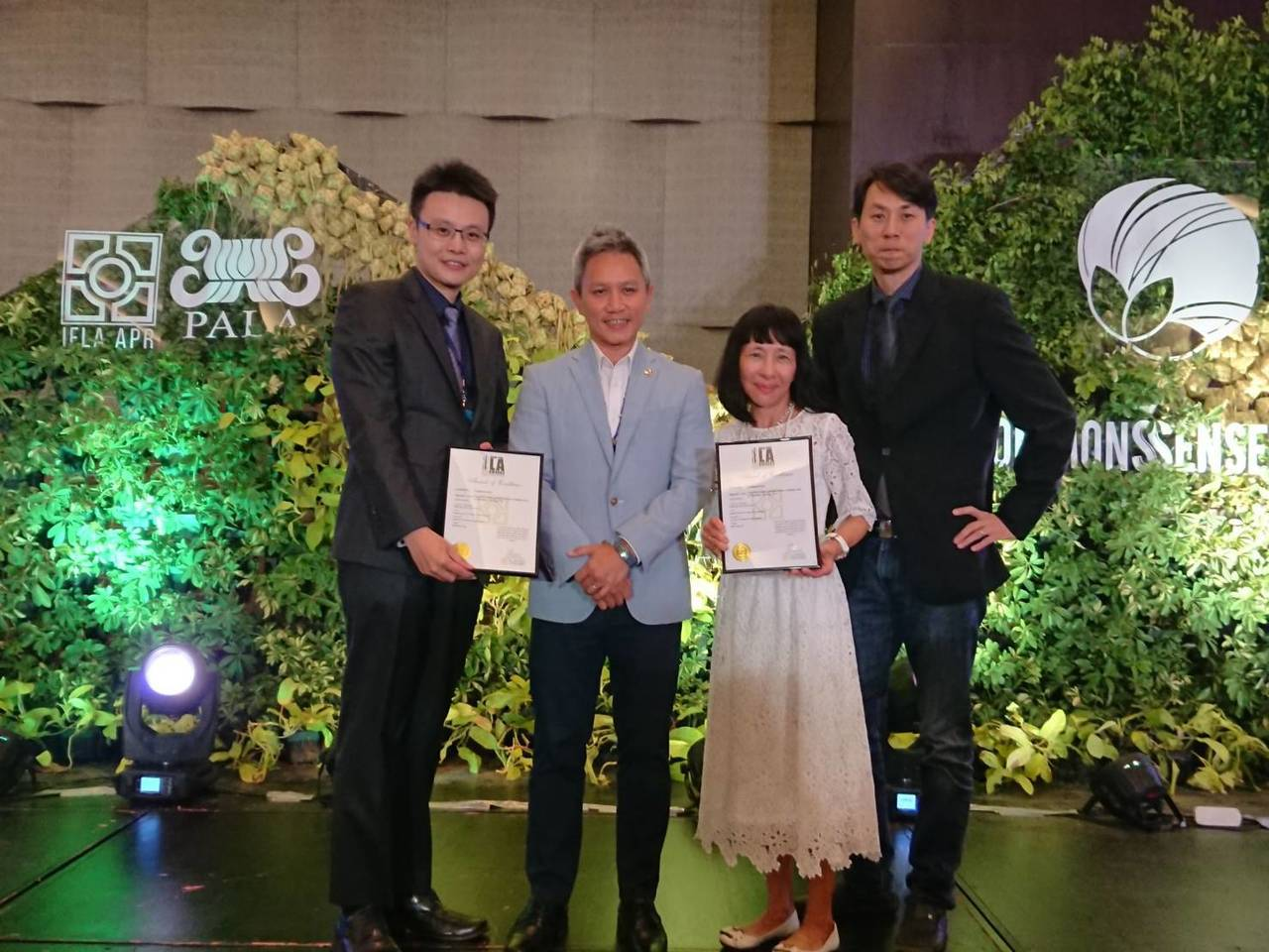 基隆色彩屋奪國際景觀大賞,今晚菲律賓獲頒卓越獎殊榮。圖/基隆市政府提供