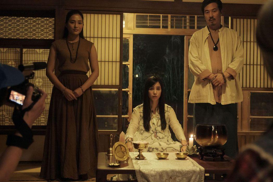 溫貞菱在「通靈少女2」中飾演仙姑。圖/公視提供