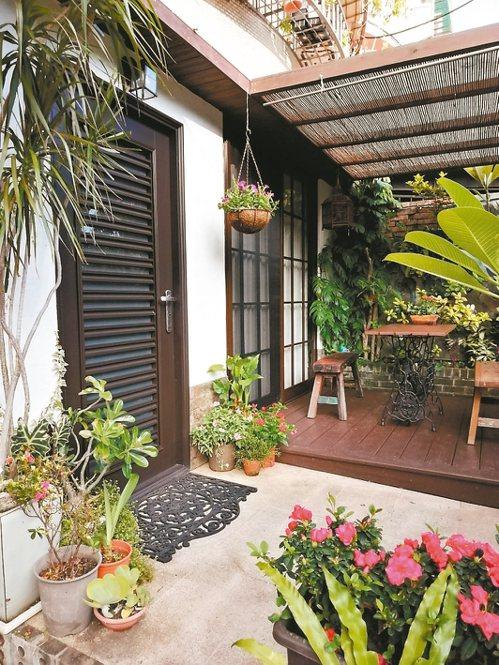 擁有穿透感的戶外庭院是許多家庭的夢想。圖/小曼提供