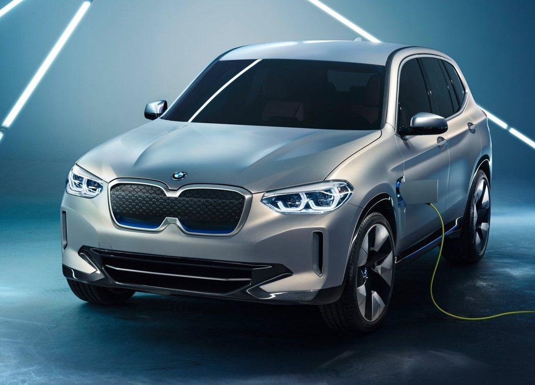 BMW iX3 Concept。 摘自BMW