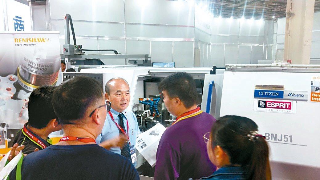 商江貿易展出日系CINCOM MIYANO各暢銷機型,包括:MIYANO新機型B...