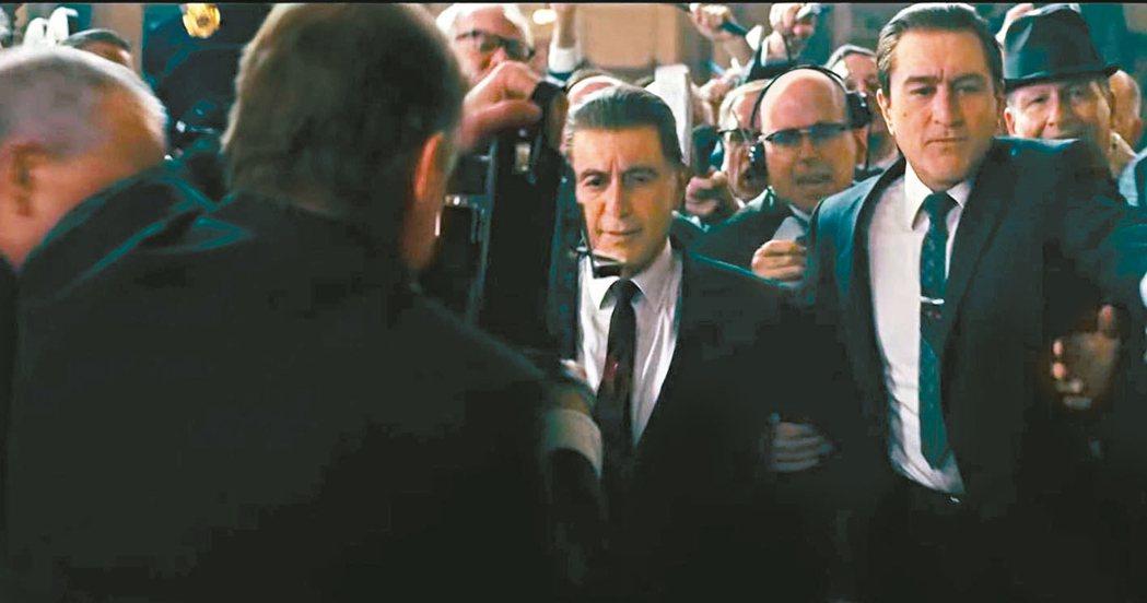 「愛爾蘭人」砸下鉅資又有巨星、名導,被看好是奧斯卡大片。 圖/摘自imdb