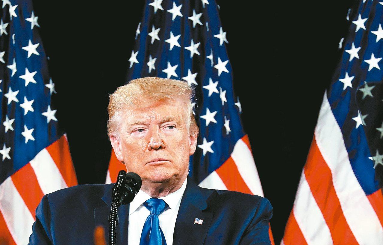 美國總統川普。 路透