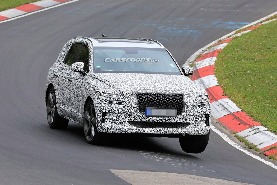Genesis GV80確認將有三種動力車型。 摘自Carscoops