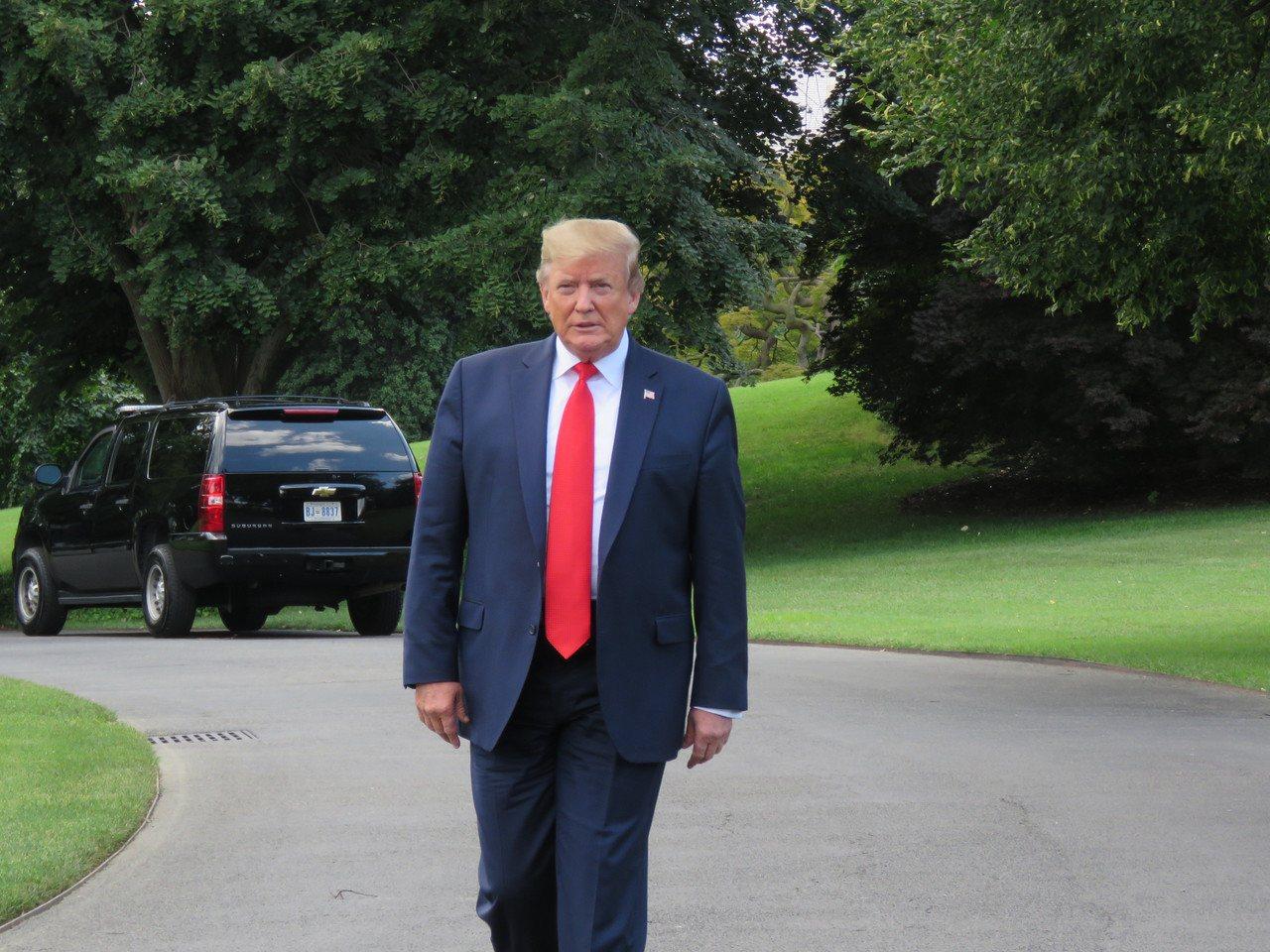 美國總統川普。本報資料照片