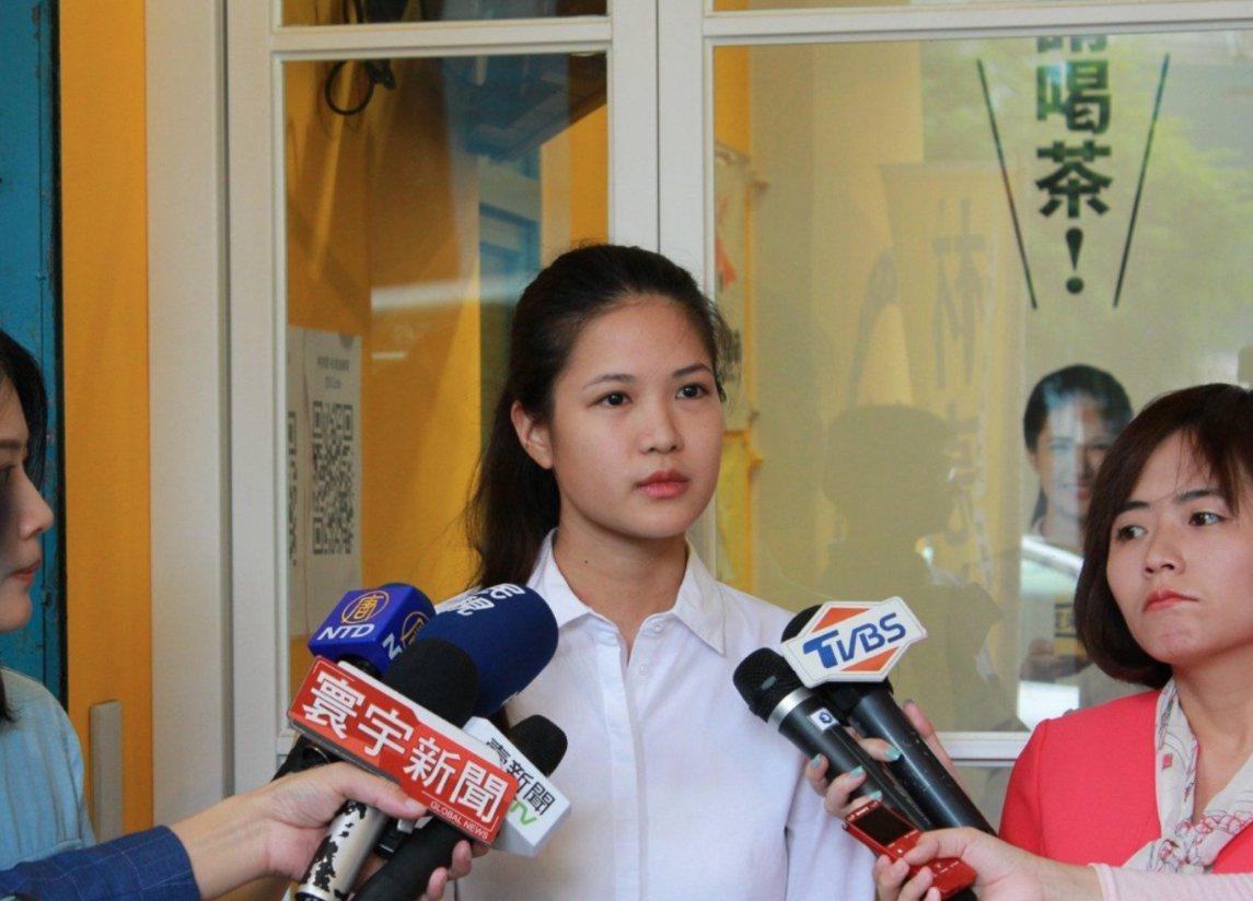 時代力量台北市議員林亮君宣布退黨。圖/取自林亮君臉書
