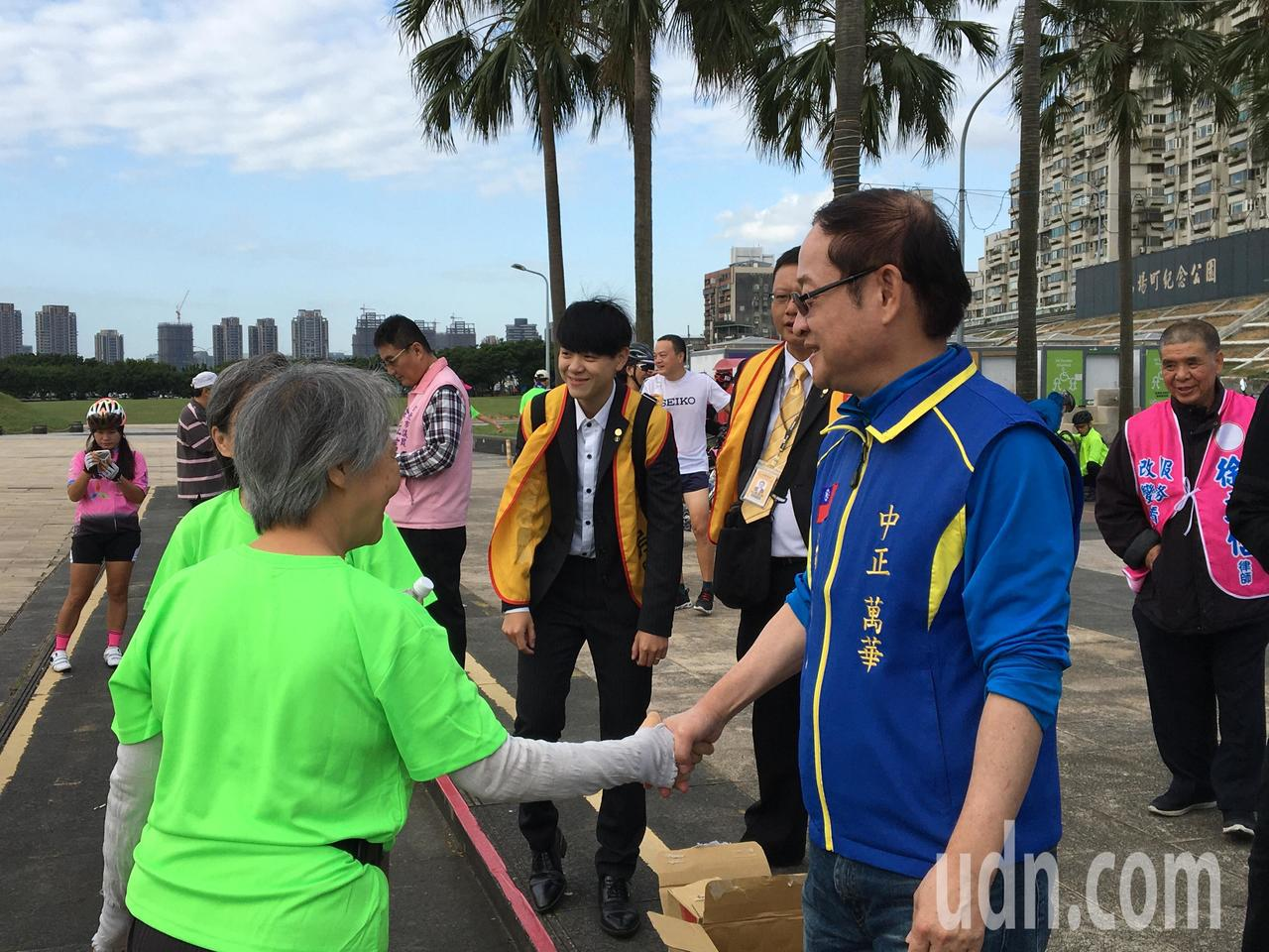 立委中正、萬華選區國民黨參選人林郁方。記者郭頤/攝影
