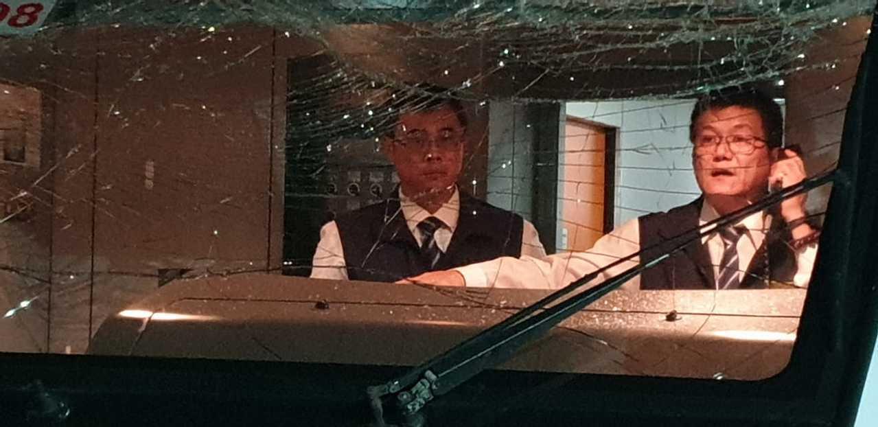 昨太魯閣事故,新北市議員楊春妹也在車上。圖/取自楊春妹臉書