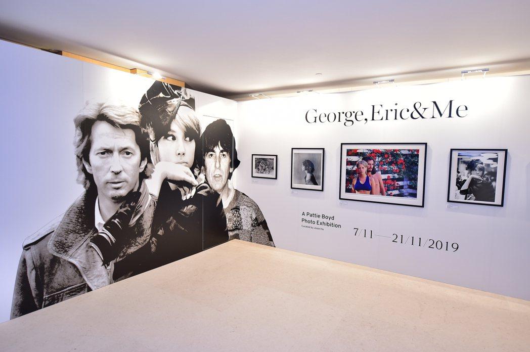 「George,Eric&Me」攝影展。圖/852 Films提供