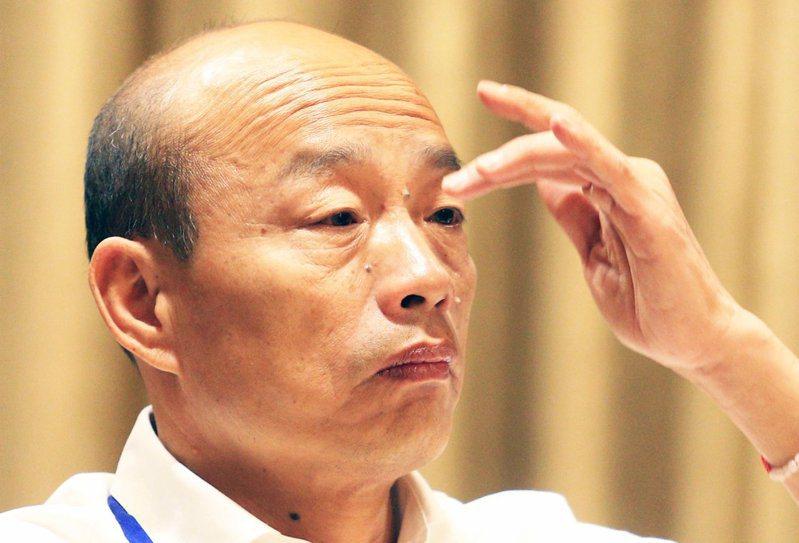 韓國瑜南港豪宅話題延燒,名嘴羅友志認為以民進黨的作法,還有更恐怖的手法在後頭。 圖/聯合報系資料照片