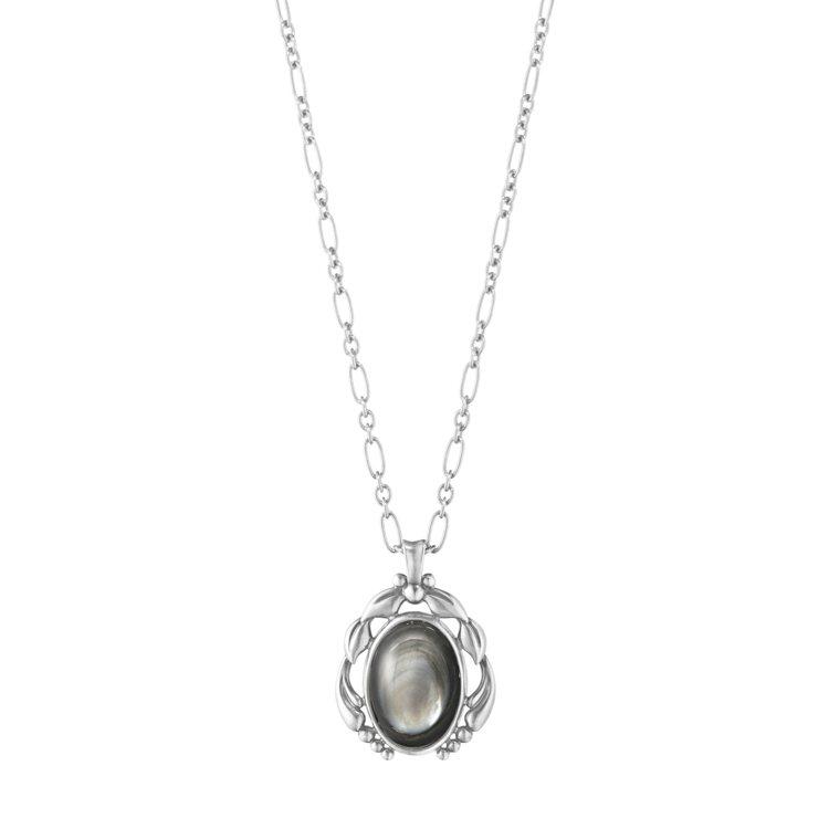2020年度紀念純銀黑珍珠母貝鍊墜,售價9,500元。圖/GEORG JENSE...
