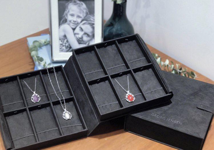 GEORG JENSEN限量精美珠寶珍藏盒。圖/GEORG JENSEN提供