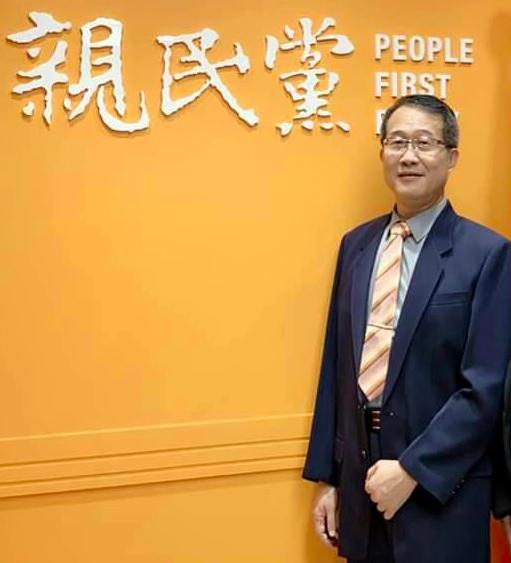 56歲的職業律師吳光中獲親民黨徵召,將投入台中第六選區立委選戰。圖/吳光中提供