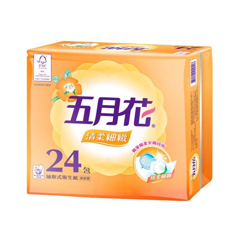 生活市集即日起至11月14日推出五月花清柔抽取衛生紙1箱共72包原價987元、6...