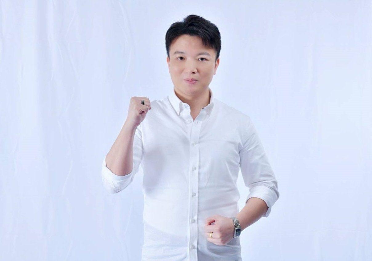 從事科技業的黃朝淵,代表親民黨參選台中市第一選區立委。圖/黃朝淵提供