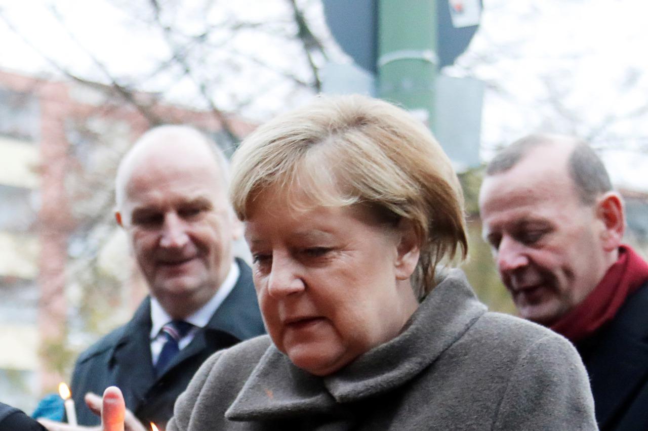 梅克爾於柏林圍牆舊址演說 喊話「沒有牆無法打破」
