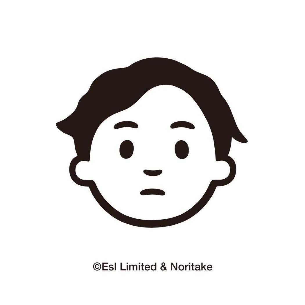 在日本插畫家Noritake的筆觸下,Q版Eason誕生。圖/環球唱片提供