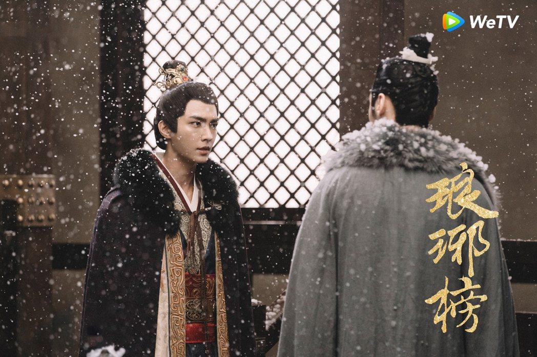 炎亞綸在WeTV「演員請就位」節目中,演出「瑯琊榜」的蕭景琰角色。圖/晴空鳥提供