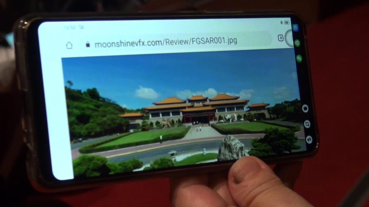 佛館昨發布「AR實境導覽」,透過手機下載「佛館AR實境」APP,掃描館內16處場...