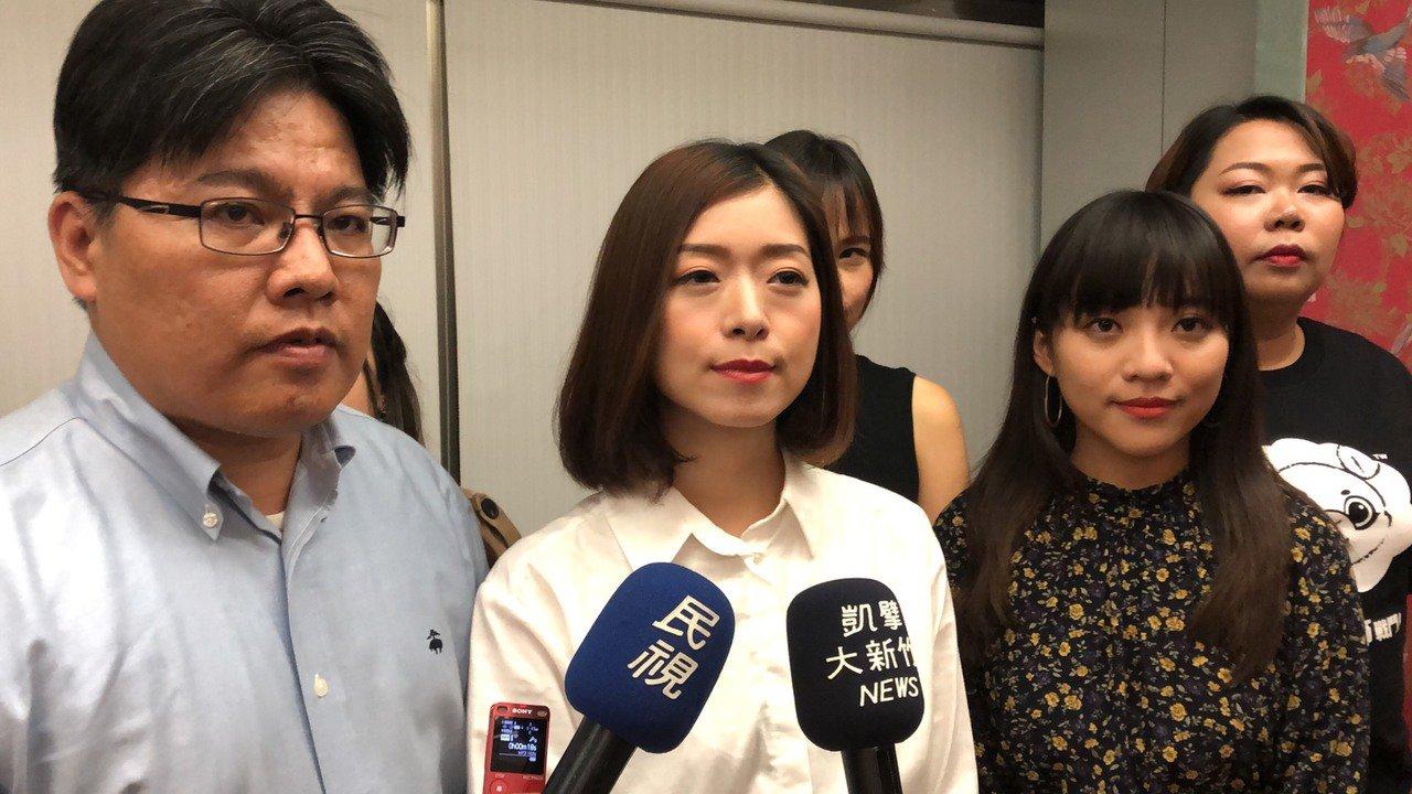 時代力量參選人高鈺婷昨晚舉辦募款餐會。記者王駿杰/攝影