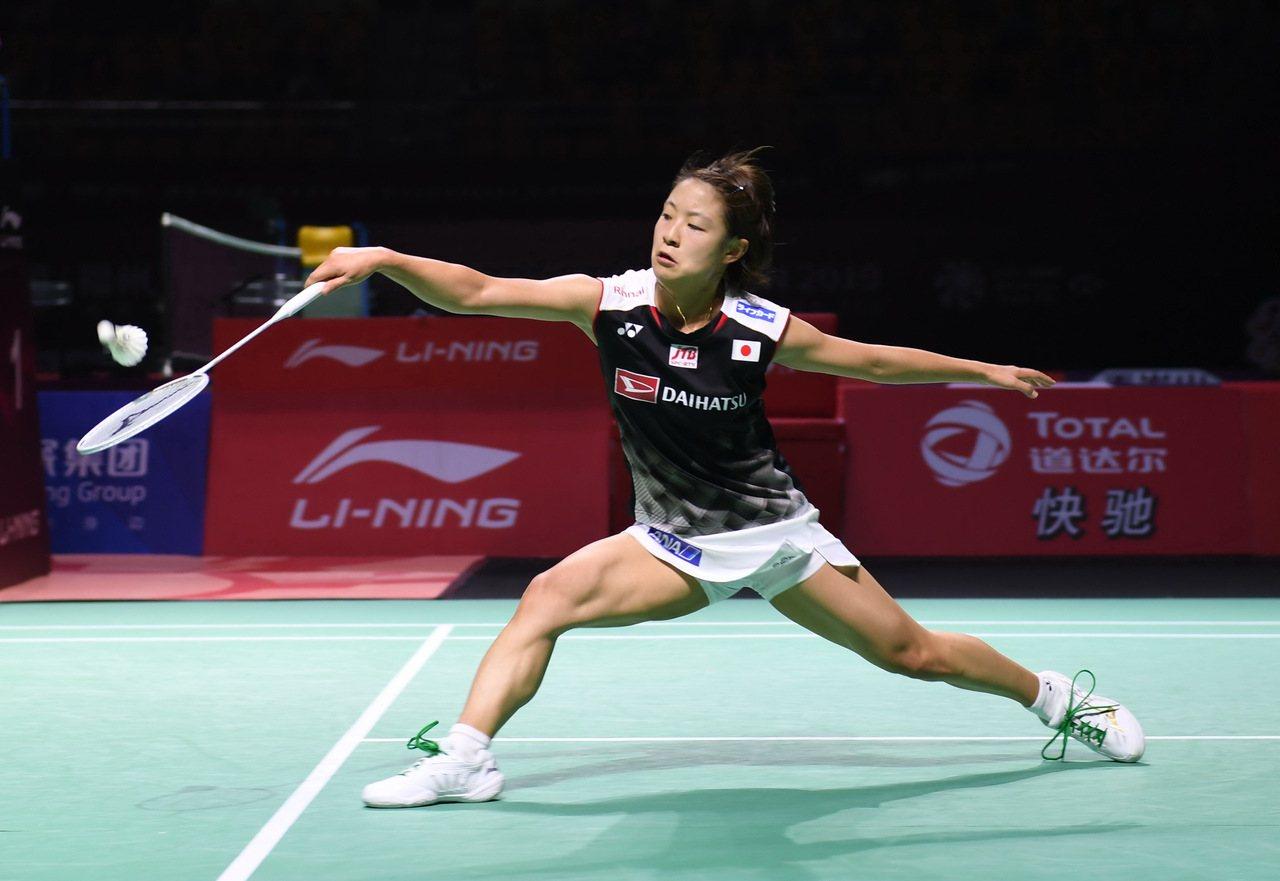 現任球后日本奧原希望女單決賽苦戰三局落敗。 新華社
