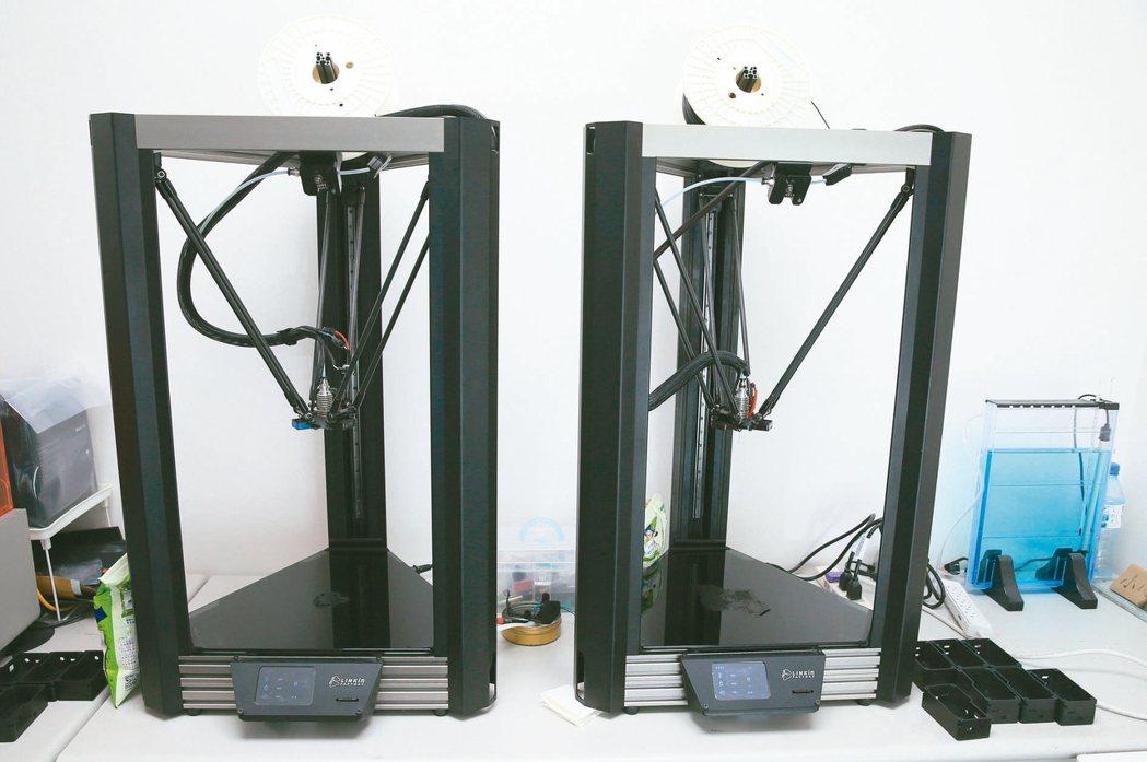 博遠3D列印。 記者潘俊宏/攝影