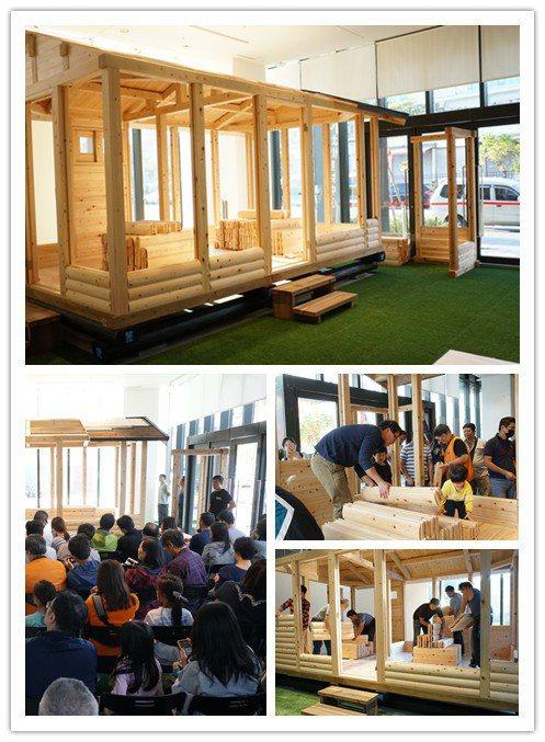 來自日本岐阜縣的「行動小木屋」,本體由檜木與杉木構成,堅固耐用的組合,兼具防腐、...