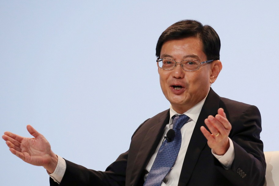 新加坡副總理、人民行動黨第一助理祕書長王瑞杰。 圖/路透