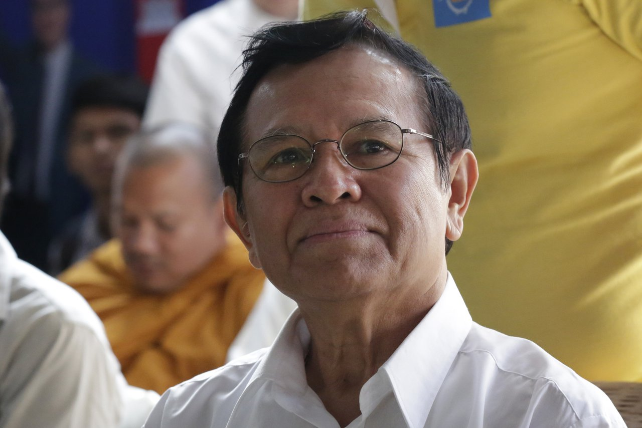 柬埔寨知名反對派領袖根索卡(Kem Sokha)。 歐新社