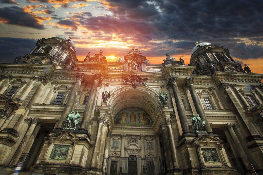 柏林大教堂。圖片來源/ingimage