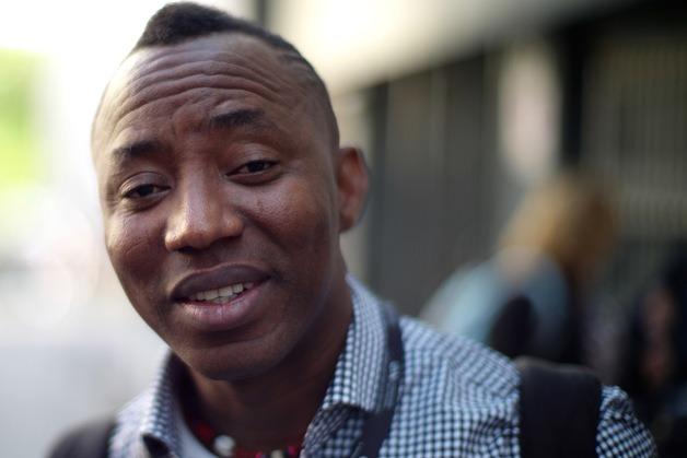 圖說:奈及利亞記者索沃因籌辦一場抗議選舉不公的遊行,被奈國政府囚禁至今不得保釋。